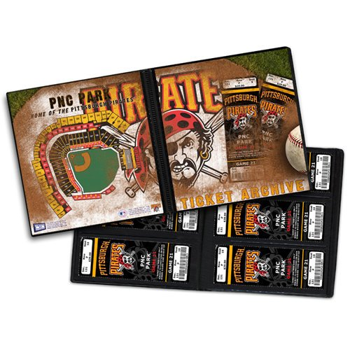 That's My Ticket - Major League Baseball Collection - 8 x 8 Ticket Album - Pittsburgh Pirates