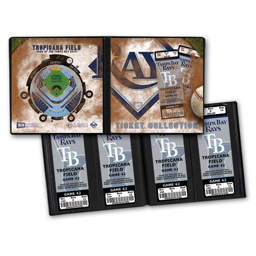 That's My Ticket - Major League Baseball Collection - 8 x 8 Ticket Album - Tampa Bay Rays