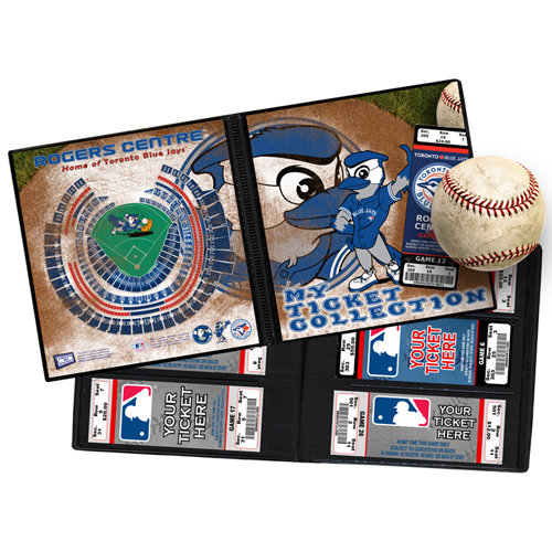 That's My Ticket - Major League Baseball Collection - 8 x 8 Mascot Ticket Album - Toronto Blue Jays - Ace