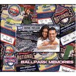 That's My Ticket - Major League Baseball Collection - 8 x 8 Postbound Scrapbook and Photo Album - Washington Nationals
