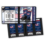 That's My Ticket - National Hockey League Collection - 8 x 8 Ticket Album - Columbus Blue Jackets
