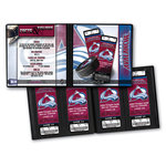 That's My Ticket - National Hockey League Collection - 8 x 8 Ticket Album - Colorado Avalanche