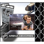 That's My Scrapbook - National Hockey League Collection - 8 x 8 Postbound Scrapbook and Photo Album - National Hockey League