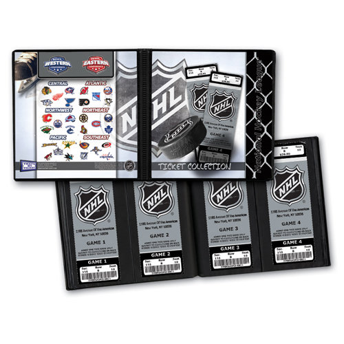 That's My Ticket - National Hockey League Collection - 8 x 8 Ticket Album - National Hockey League