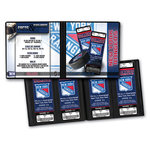 That's My Ticket - National Hockey League Collection - 8 x 8 Ticket Album - New York Rangers