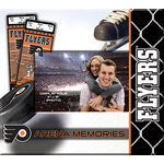 That's My Scrapbook - National Hockey League Collection - 8 x 8 Postbound Scrapbook and Photo Album - Philadelphia Flyers