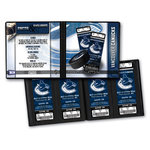 That's My Ticket - National Hockey League Collection - 8 x 8 Ticket Album - Vancouver Canucks