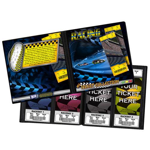 That's My Ticket - 8 x 8 Ticket Album - Racing