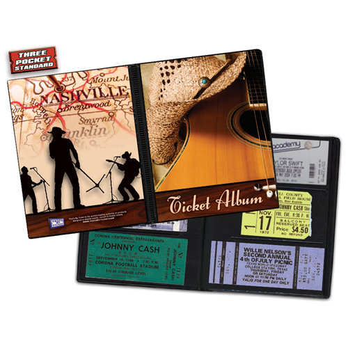 That's My Ticket - Concert Collection - 8 x 8 Ticket Album - Country Cover