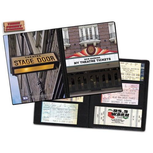 That's My Ticket - 8 x 8 Ticket Album - Theater