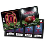 That's My Ticket - National Football League Collection - 8 x 8 Ticket Album - Arizona Cardinals
