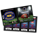 That's My Ticket - National Football League Collection - 8 x 8 Ticket Album - Baltimore Ravens