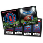That's My Ticket - National Football League Collection - 8 x 8 Ticket Album - Buffalo Bills