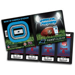 That's My Ticket - National Football League Collection - Ticket Album - Carolina Panthers
