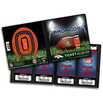 That's My Ticket - National Football League Collection - 8 x 8 Ticket Album - Denver Broncos