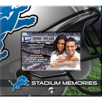 That's My Ticket - National Football League Collection - 8 x 8 Postbound Scrapbook and Photo Album - Detroit Lions