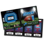 That's My Ticket - National Football League Collection - 8 x 8 Ticket Album - Detroit Lions
