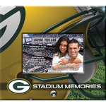 That's My Ticket - National Football League Collection - 8 x 8 Postbound Scrapbook and Photo Album - Green Bay Packers