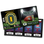 That's My Ticket - National Football League Collection - Ticket Album - Green Bay Packers