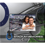That's My Ticket - National Football League Collection - 8 x 8 Postbound Scrapbook and Photo Album - Indianapolis Colts