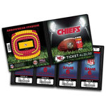 That's My Ticket - National Football League Collection - 8 x 8 Ticket Album - Kansas City Chiefs