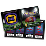 That's My Ticket - National Football League Collection - 8 x 8 Ticket Album - Minnesota Vikings
