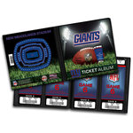 That's My Ticket - National Football League Collection - 8 x 8 Ticket Album - New York Giants
