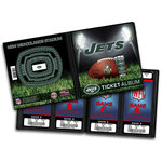 That's My Ticket - National Football League Collection - 8 x 8 Ticket Album - New York Jets