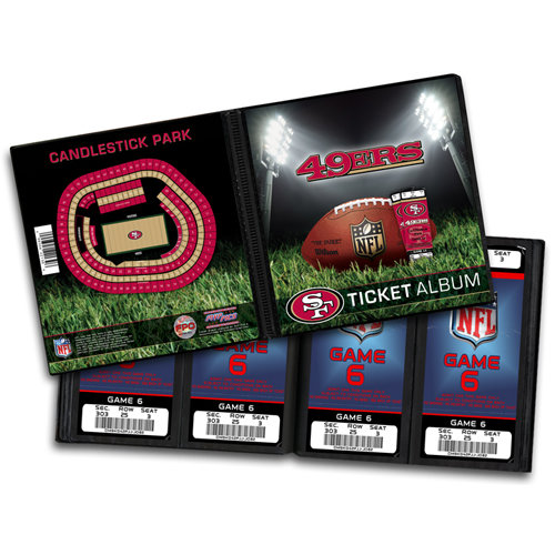 That's My Ticket - National Football League Collection - 8 x 8 Ticket Album - San Francisco 49ers