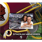 That's My Ticket - National Football League Collection - 8 x 8 Postbound Scrapbook and Photo Album - Washington Redskins