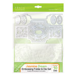 Tonic Studios - Idyllics Embossing Folder and Dies Set - Jasmine Dream