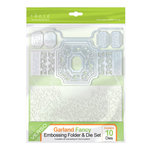 Tonic Studios - Idyllics Embossing Folder and Dies Set - Garland Fancy
