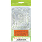 Tonic Studios - Indulgence Dies and Stamp Set - Sent from the Heart
