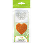 Tonic Studios - Rococo Dies and Stamp Set - Vine Hearts