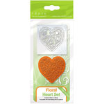 Tonic Studios - Rococo Dies and Stamp Set - Floral Heart