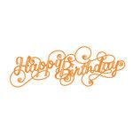 Tonic Studios - Sentiments Die Set - Birthday Swirl