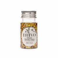Nuvo - Arabian Nights Collection - Pure Sheen Confetti - Desert Sunset Stars