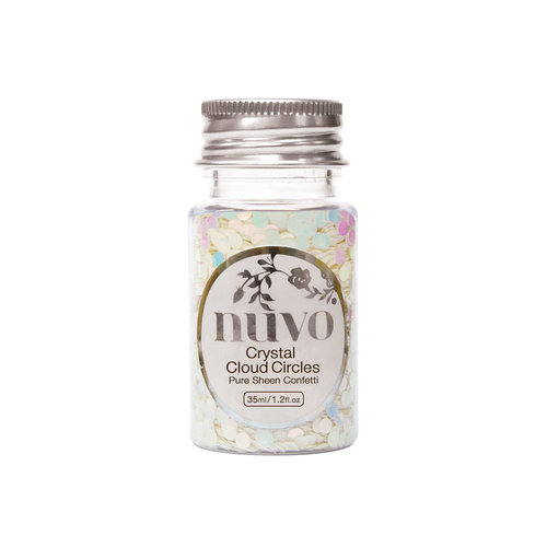 Nuvo - Ocean Air Collection - Pure Sheen Confetti - Crystal Cloud Circles