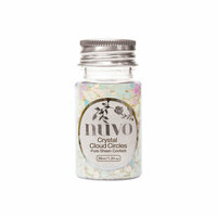Nuvo - Ocean Air Collection - Pure Sheen Confetti - Crystal Cloud Circles