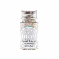 Nuvo - Dream In Colour Collection - Pure Sheen Confetti - Rainbow Quartz Triangles