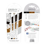Tonic Studios - Nuvo Collection - Brush Script Pens - Essential Tones