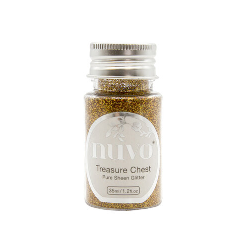 Nuvo - Woodland Walk Collection - Pure Sheen Glitter - Treasure Chest