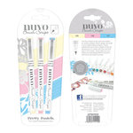 Nuvo - Brush Script Pens - Pretty Pastels