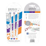Tonic Studios - Nuvo Collection - Brush Script Pens - Mandala Infusion