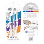 Nuvo - Brush Script Pens - Mandala Infusion