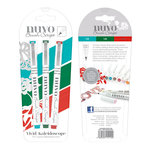 Tonic Studios - Nuvo Collection - Brush Script Pens - Vivid Kaleidascope
