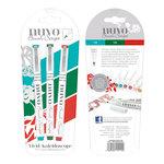Nuvo - Brush Script Pens - Vivid Kaleidascope
