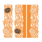 Tonic Studios - Entangled Strip Die and Stamp Set - With Sympathy