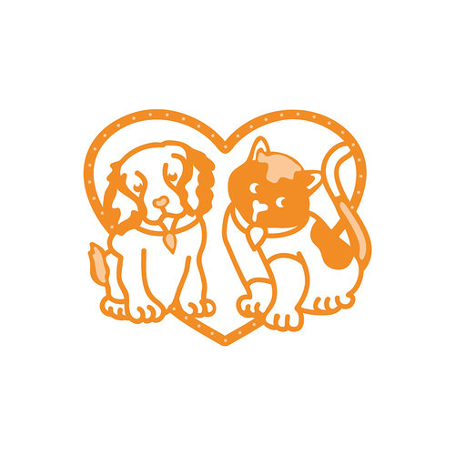 Tonic Studios - Rococo Pampered Pets Die - Best Buddies