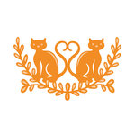 Tonic Studios - Rococo Pampered Pets Die - Love Cats